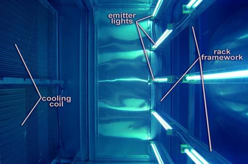 Lắp đặt đèn UVC trong AHU