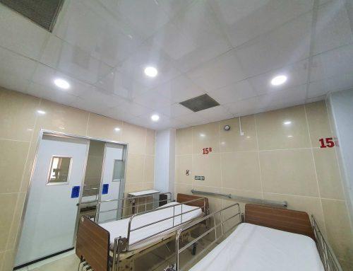 Lắp đặt phòng áp lực âm ICU