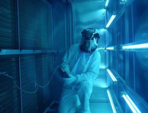 Lắp đặt hệ thống UVC khử khuẩn AHU